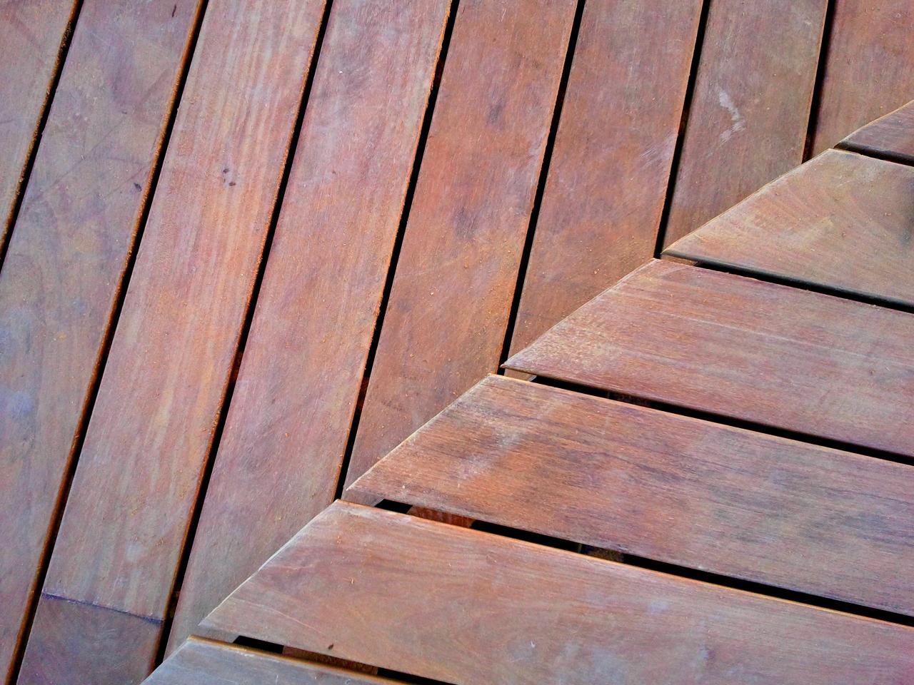 terrasse bois détail