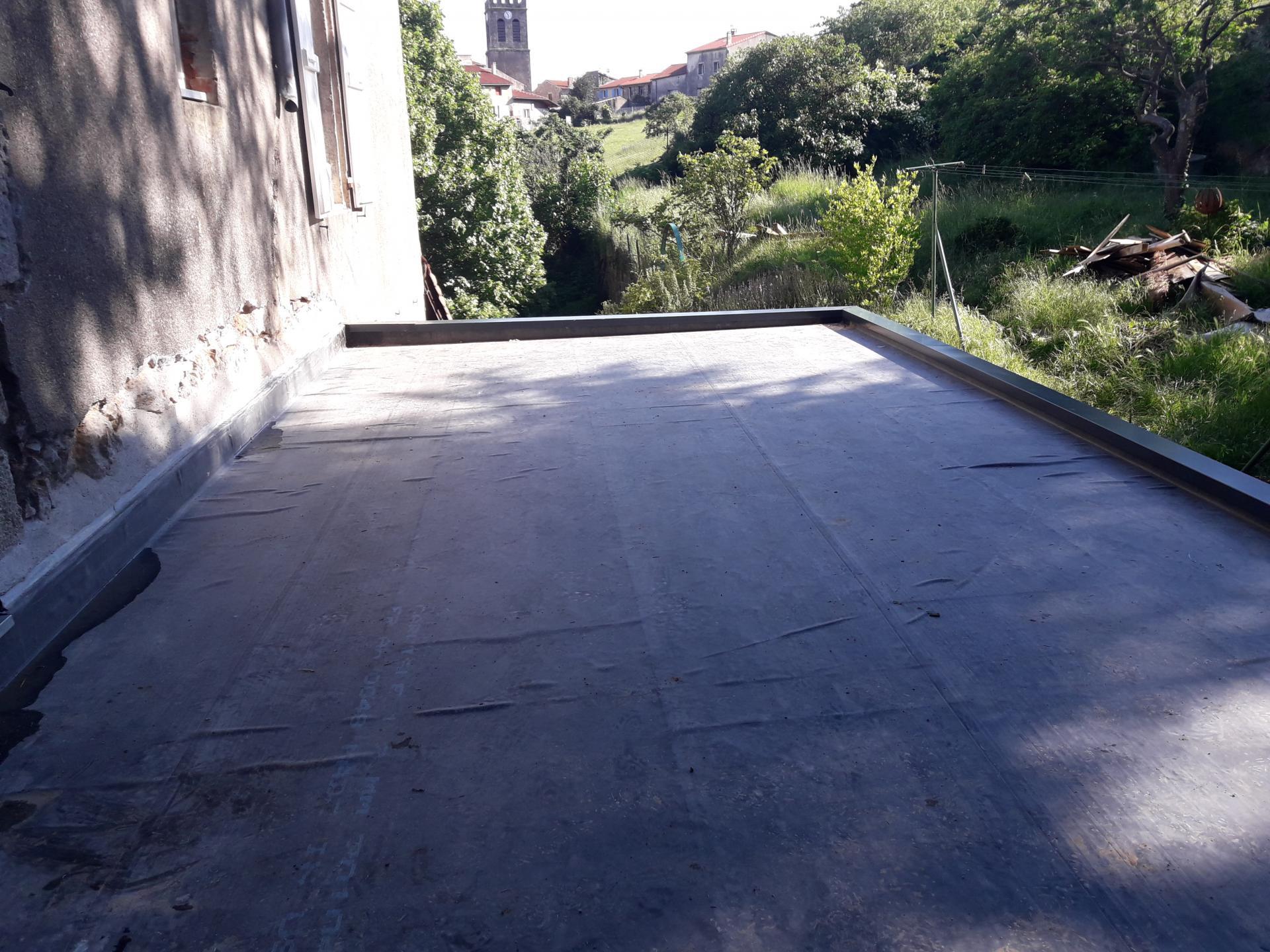 toiture terrasse étanchéité EPDM