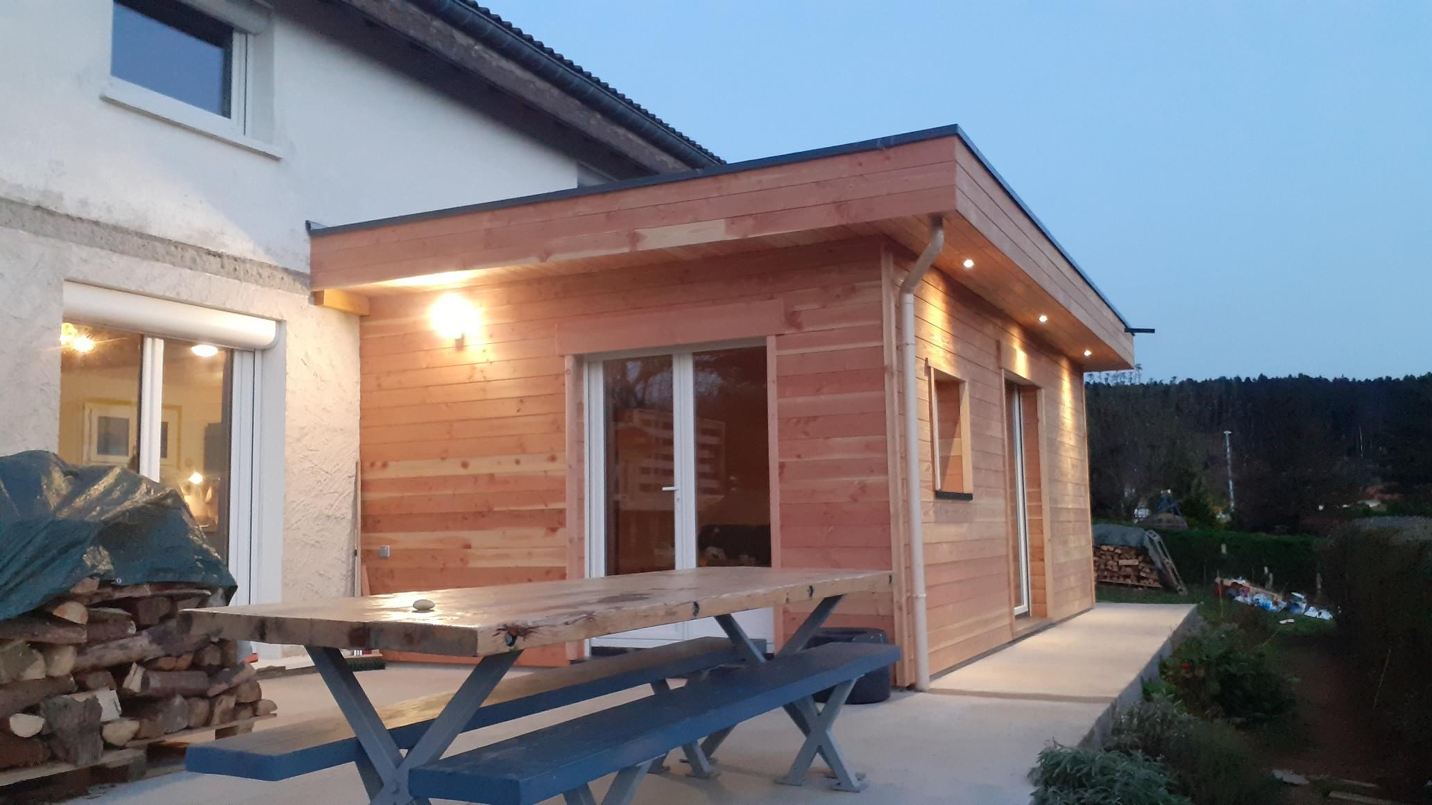 extension toiture-terrasse