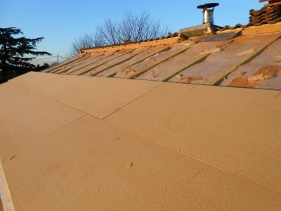 isolation toiture par dessus