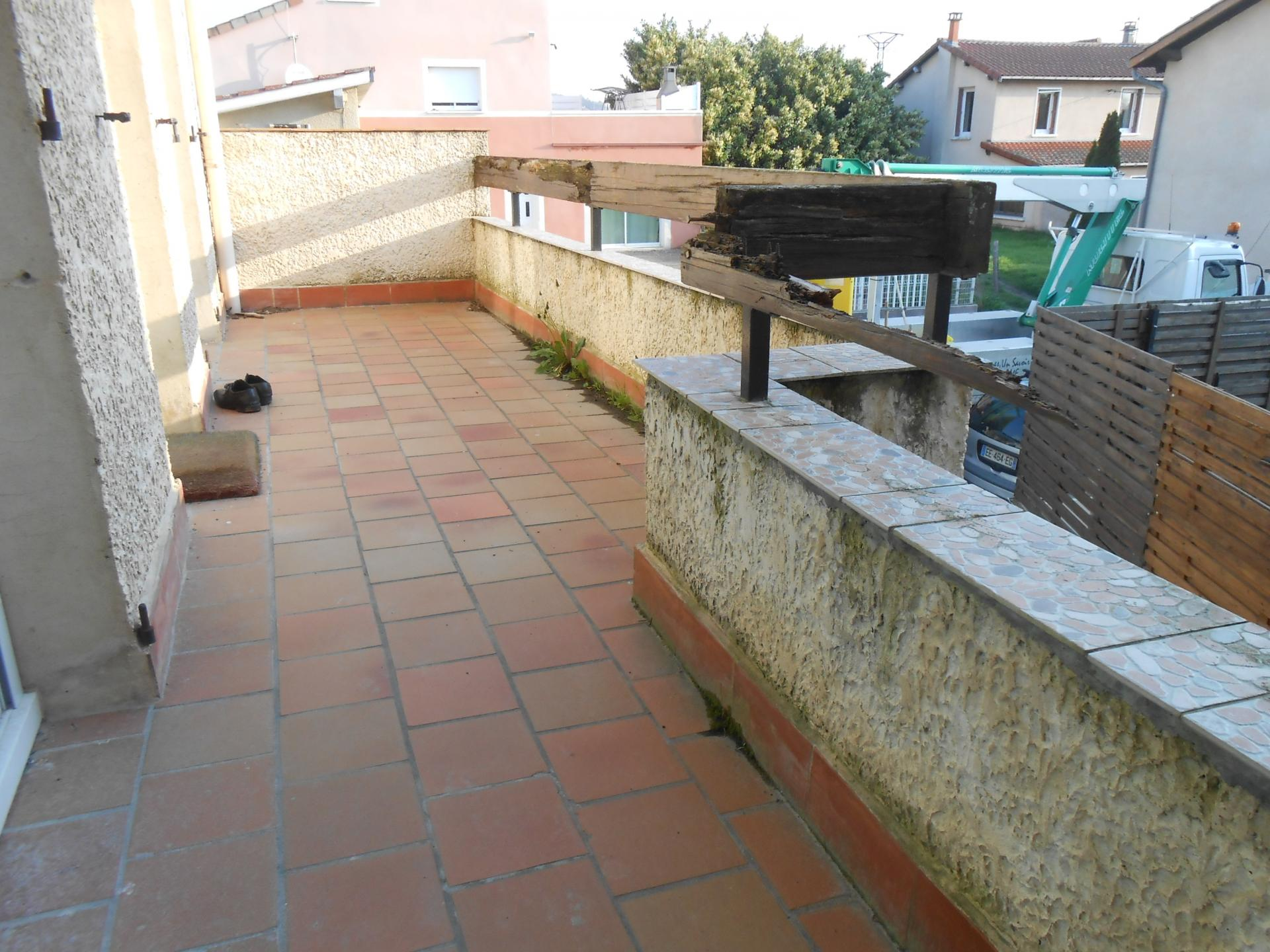 Terrasse sur lev e for Terrasse bois surelevee