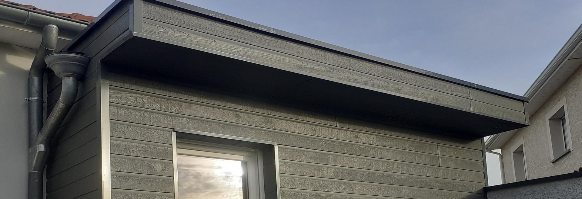 extension bardage bois composite