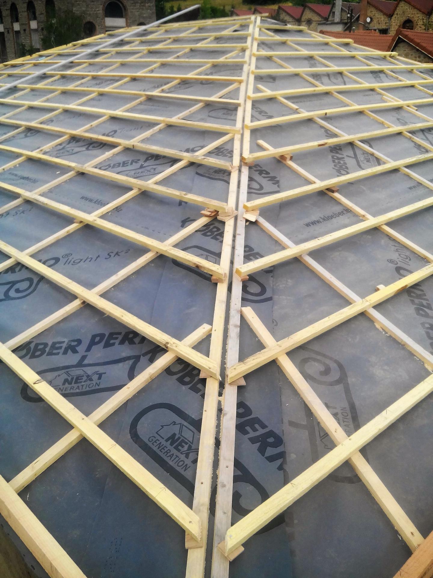 R novation toiture juin2016 for Litelage et contre litelage